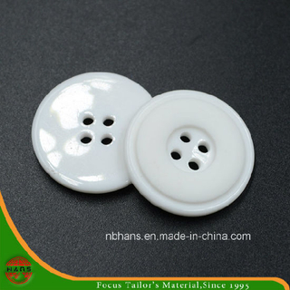 4 Holes New Design Polyester Shirt Button (S-115)