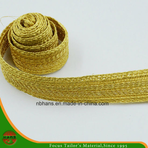 Golden Color Woven Tape-Hshd-06