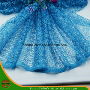 High Quality Embroidery Polyester Fabric (HSHY-1701)