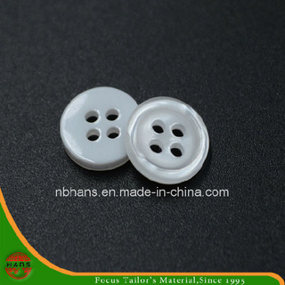 4 Holes New Design Polyester Shirt Button (S-117)