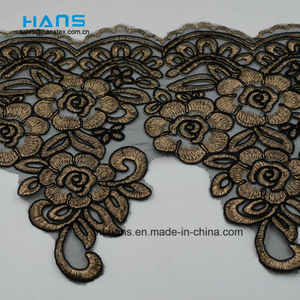 2018 New Design Embroidery Lace on Organza (MLS-1815)