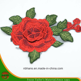 2017 New Design Embroidery Lace (HANS-CH15)