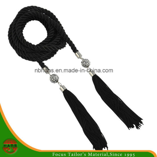 Black Color Embroidery Thread Tassel (18mm)