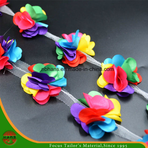 Six Colors Satin Flowers for Decoration (HSXC-1707)