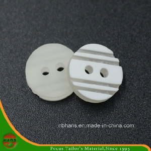 2 Holes New Design Polyester Shirt Button (S-126)