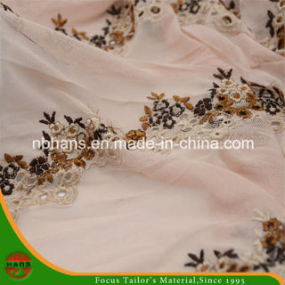 Tulle Lace Embroidery for Lady′s Garment