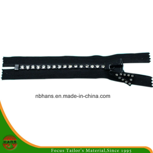 8# Auto-Lock Close-End Diamond Zipper (B-HANSAX-07)