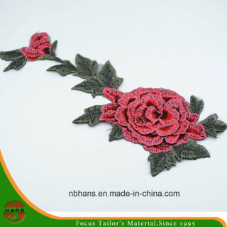 2017 New Design Embroidery Lace (HANS-CH09)
