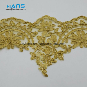 2018 New Design Embroidery Lace on Organza (HC-1839)