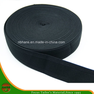 Knitting Elastic Webbing Without Hole