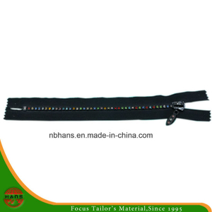 4# Auto-Lock Close-End Diamond Zipper (HANSAX-02)