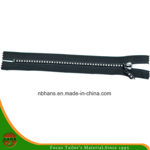 4# Auto-Lock Close-End Diamond Zipper (B-HANSAX-20)