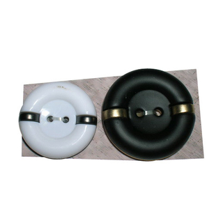 2 Holes New Design Plastic Button (S-033)