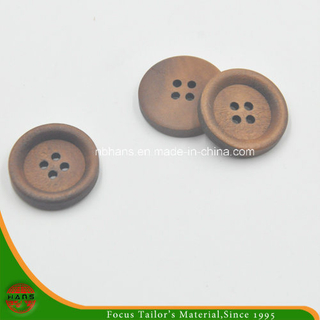 4 Hole New Design Wooden Button (HABN-1622009)
