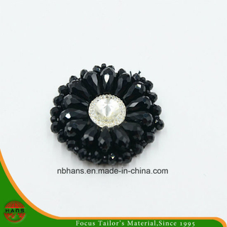 Fashion Acrylic Black Flower