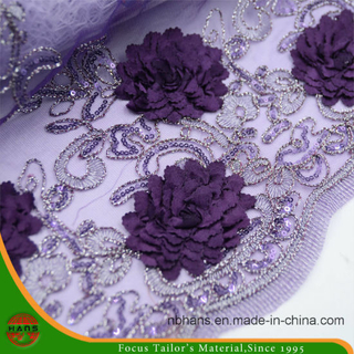 Embroidery Nylon Fabric for Garment (HAEF160006)
