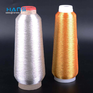 Hans Cheap Wholesale Colorful Ms Type Metallic Yarn