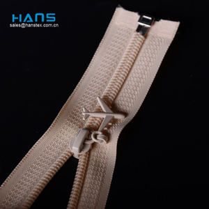 Hans Excellent Quality Mixed Colors Open End Zipper