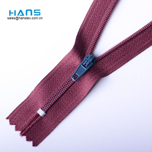 Hans Promotion Cheap Price Colorful Zipper for Bags