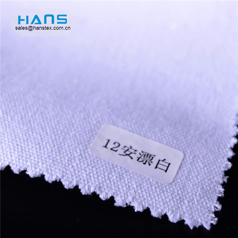 Hans Factory Customized Fashionable Waterproof Poly Cotton Canvas Fabric