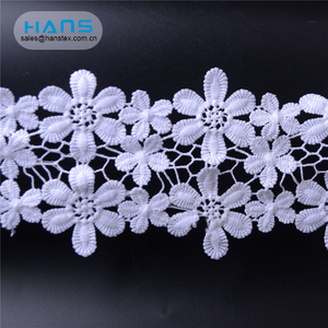 Hans Direct From China Factory Yards Wax Lace Fabric