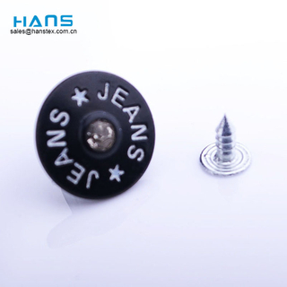 Hans Amazon Top Seller New Style Rhinestone Buttons for Jeans