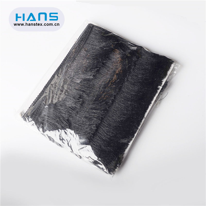 Hans Wholesale China Garment Accessories Leather Fringe Trim