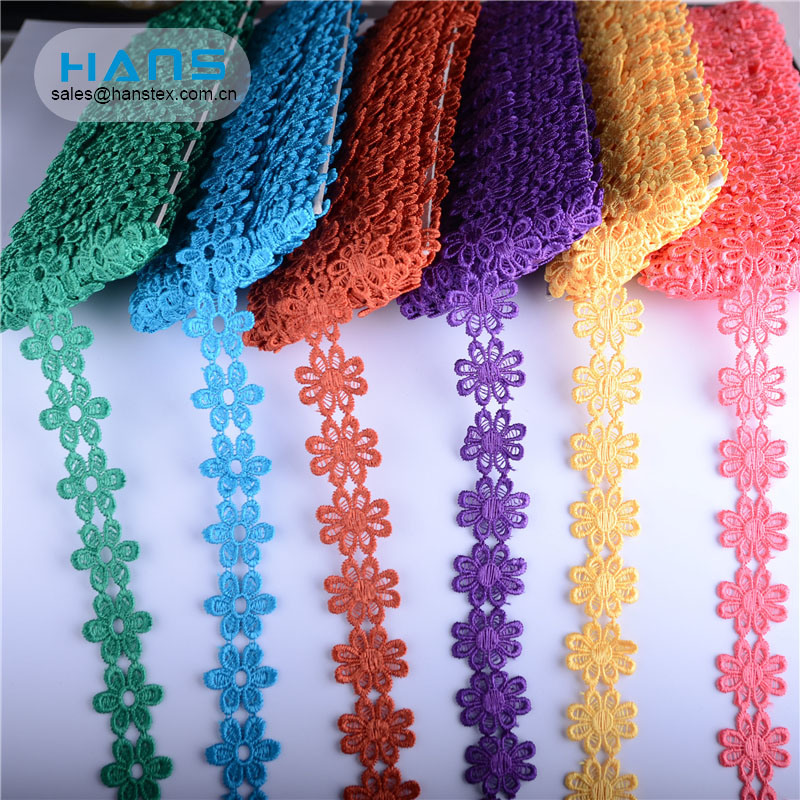 Hans Your Satisfied Eco-Friendly Water Soluble Lace