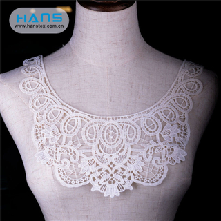 Hans OEM Customized Fashion Design Collar Lace