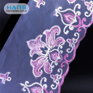 Hans Factory Customized Stylish Fabric Lace