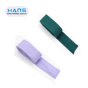 Hans Factory Wholesale Cotton Tape 5mm