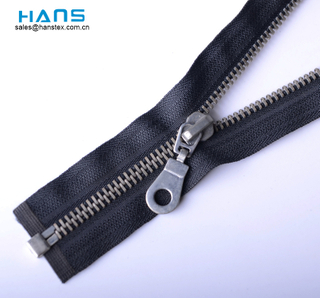 Hans Promotion Cheap Price Premium Quality Metal Zipper Gold Teeth