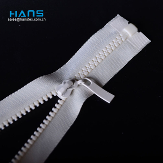 Hans China Factory Anticorrosive Large Plastic Zipper