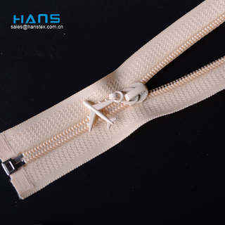 Hans High Quality Fastness to Soaping #3 Nylon Zipper