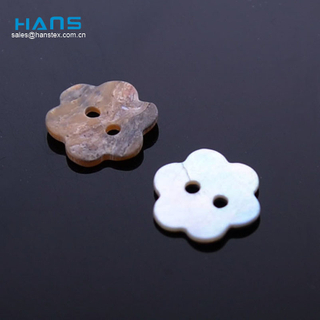 Hans Hot Promotion Item Fashion Abalone Bulk Shell Buttons