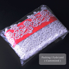 Hans Factory Price Beautifical French Lace with Beads and Stones