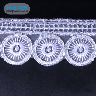 Hans Custom Manufactured Colorful Lace Manufacturer
