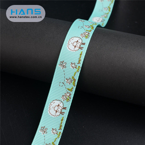 Hans Cheap Wholesale Various Color Custom Printed Ribbon