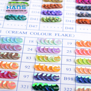 Hans China Factory Multicolor Sequin Textile