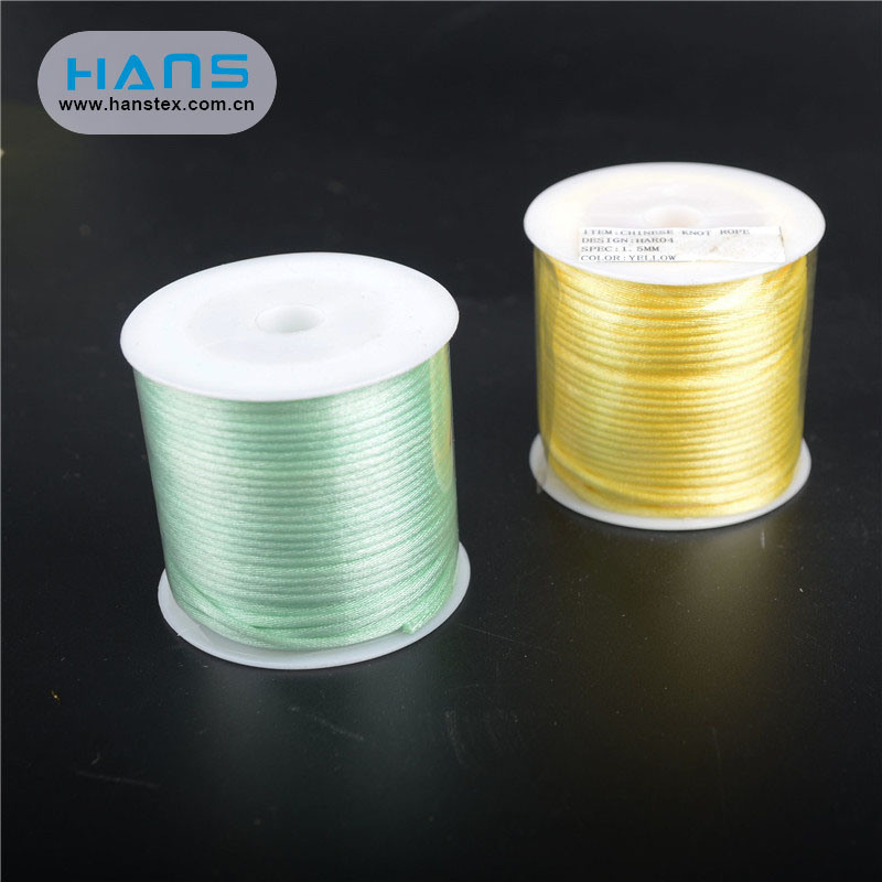 Hans ODM/OEM Design Fashion Chinese Knotting Cord