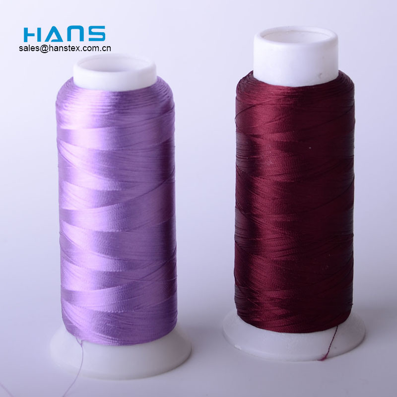 Hans Excellent Quality and Reasonable Price Multicolor Lace Thread