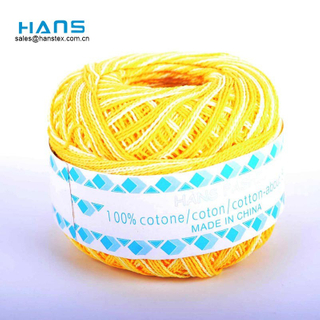 Hans Customized Logo Dyed Crochet Yarn