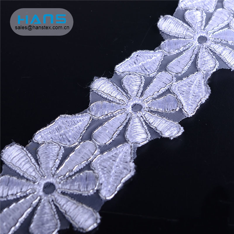 Hans New Products 2019 Garment Accessories Lace Wedding