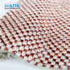 Hans ODM / OEM Design Hole Diamond Rhinestone Adhesive Sheet