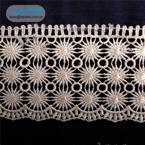 Hans 2019 Hot Sale Latest Arrival Textile Lace Fabric