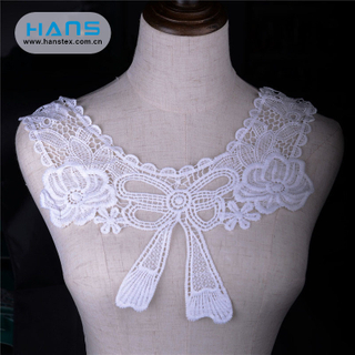 Hans Free Sample Stylish Lace Necklace