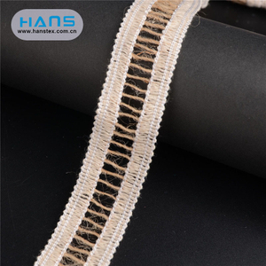 Hans China Supplier Promotional Jute Trim