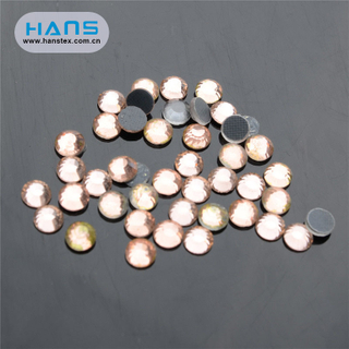 Hans Wholesale China New Arrival Clothing Rhinestone Stickers