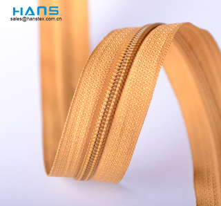 Hans ODM / OEM Design Colorful Nylon Zipper Long Chain