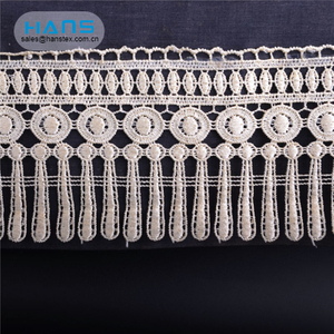 Hans Easy to Use White White Guipure Lace Fabric